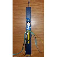 CANDLE BLUE WIZARD BOOKMARK