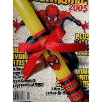 SPIDERMAN EASTER CANDLE