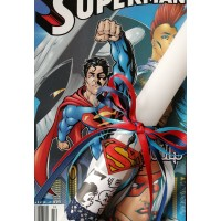SUPERMAN EASTER CANDLE