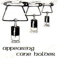 APPEARING CANE HOLDER