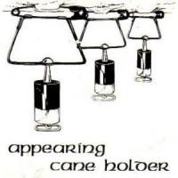 APPEARING CANE HOLDER