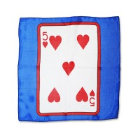 FIVE OF HEARTS MAGIC SILK