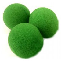 SPONGE BALL GREEN SET