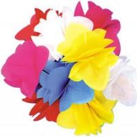 SPRING FLOWERS PLASTIC